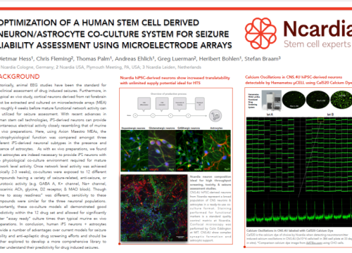 2018 SOT poster hess optimization of human stem cell