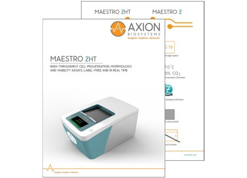 Maestro ZHT brochure live cell analysis system